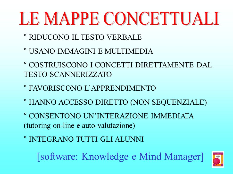 [software: Knowledge e Mind Manager]